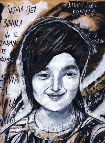 14. Sarvía Isel Barrientos Reyes, por Victoria Martos