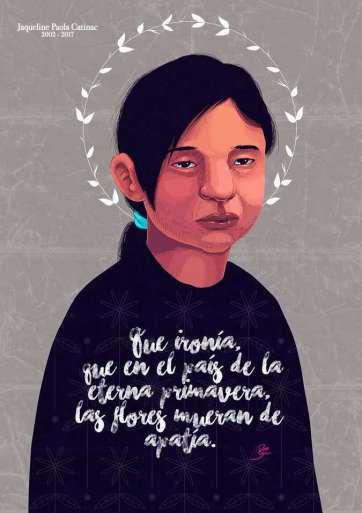 6. Jaqueline Paola Catinac López, por Gil Amado