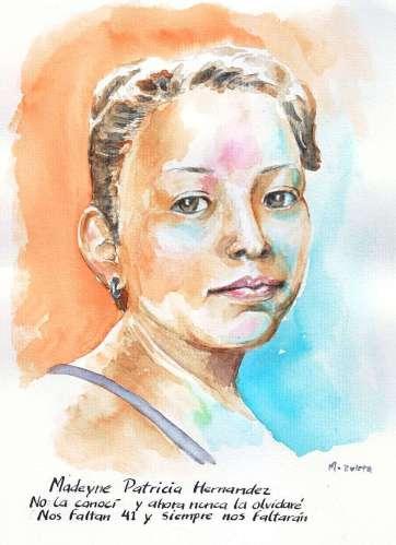 13. Madelyn Patricia Hernández Hernández, por Daniel Morales