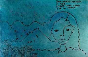 37. Sara Nohemí Lima Ascón, por Quimy De León