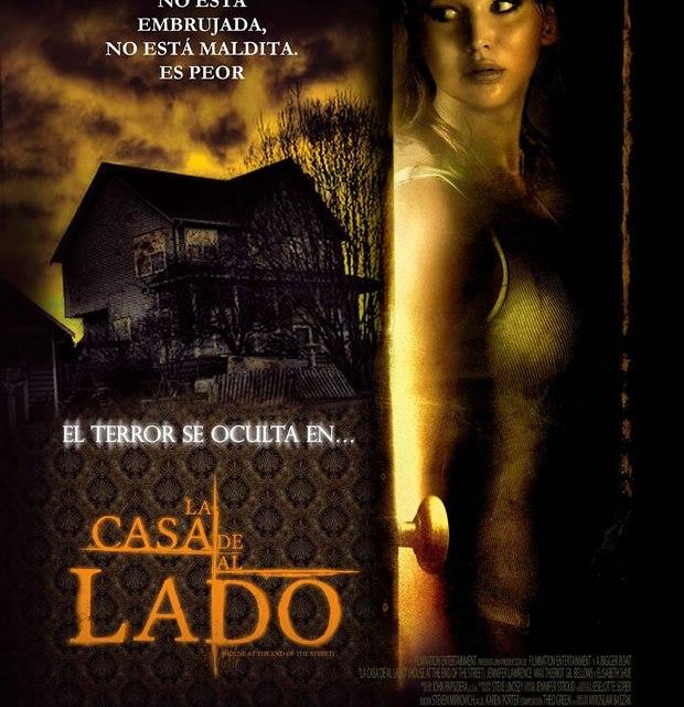 Poster La Casa de al Lado estreno