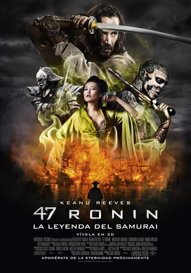 Mestizos y criaturas míticas, ¿Quién es quién en 47 Ronin?