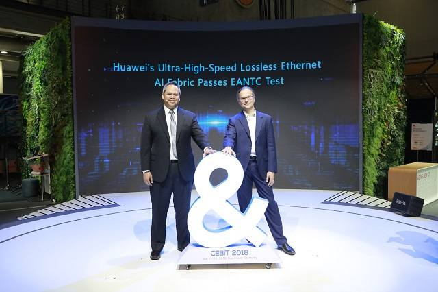 AI Fabric Ultra-High-Speed Ethernet de Huawei