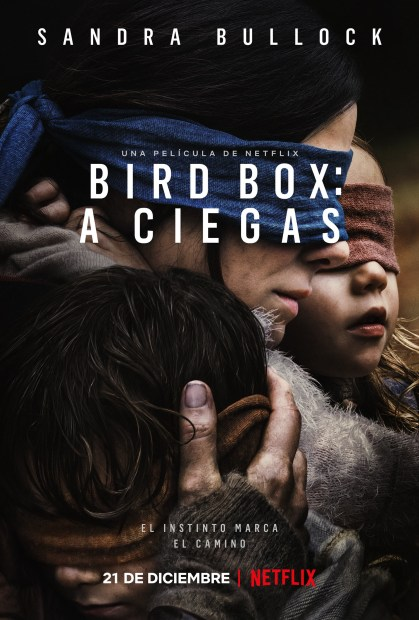 Bird box a ciegas poster