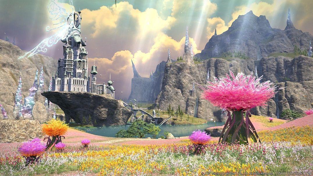 Foto de Final Fantasy XIV: Shadowbringers, con nuevos escenarios