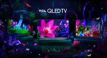 Televisores TCL QLED: C715, X915, C815 (de izquierda a derecha)
