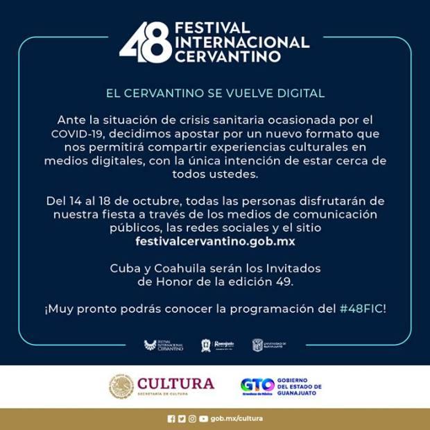 Festival internacional cervantino digital
