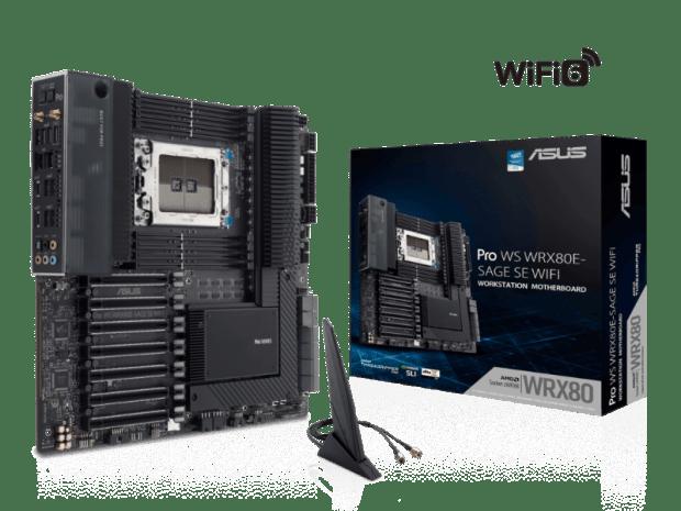motherboard WRX80 workstation para AMD Ryzen Threadripper PRO