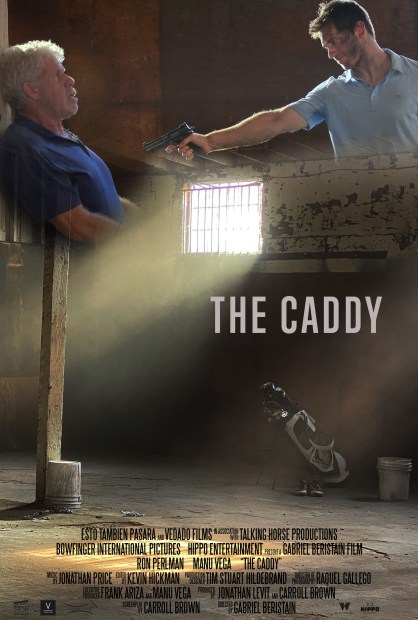 """Gabriel Beristain dirige a Ron Perlman y Manu Vega en el cortometraje """"The Caddy"""""""