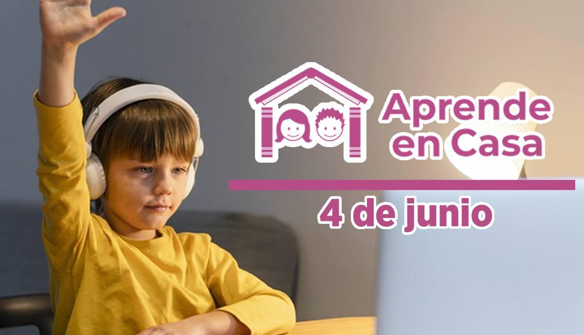 4 de junio aprende en casa