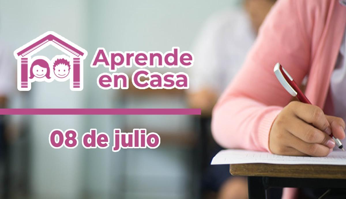 8 de julio aprende en casa