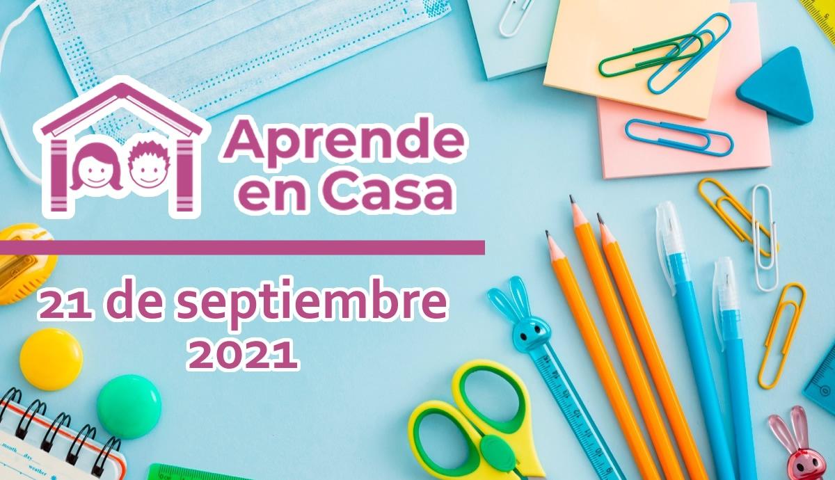 21 de septiembre aprende en casa
