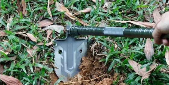Multi-Purpose Folding Shovel