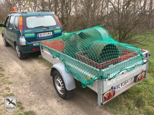 Räumung der NÖ Umweltwacht im Landschaftsschutzgebiet von Hainburg an der Donau | Foto: NOE-Umweltwacht.org
