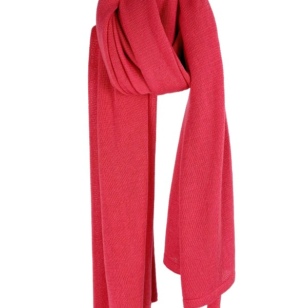 Cosy Cotton sjaal – Pink
