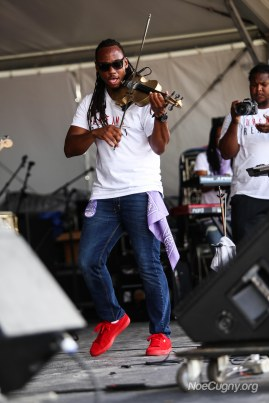 New Orleans Jazz Fest 2016 - T-Ray the Violinist