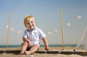 baby-jongen-polo-wit-lichtblauw geruit