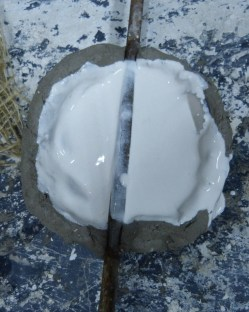 First Plaster layer