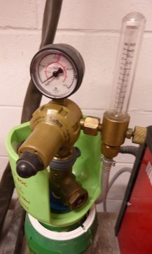 Gas Cylinder and dials