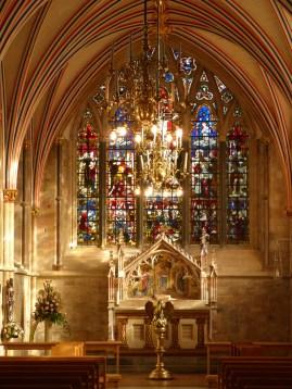 Silent prayer area