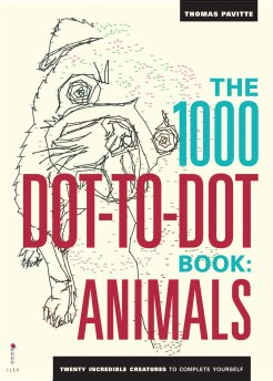 """1000 Dot-to-Dot Animals"" by Thomas Pavitte"