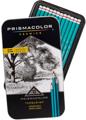 Prismacolor Premier Medium Turquoise Sketching Pencils