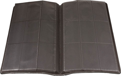 Ultra Pro Premium Pro-Binder Padded Leatherette Sideloading 9-Pocket Card Binder