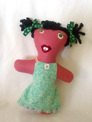 funny felt doll