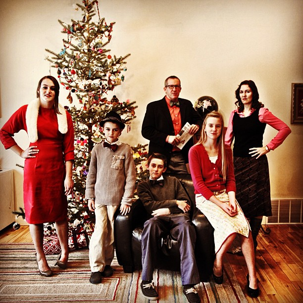 mad men family picture