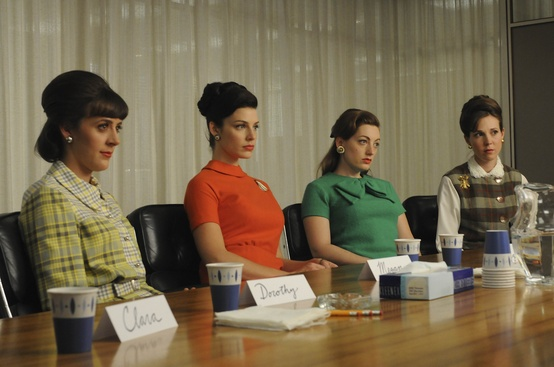 mad men secretaries