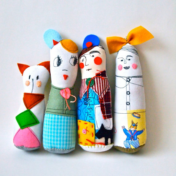 small character dolls