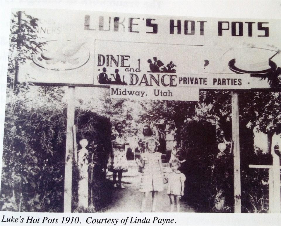 Lukes Hot Pots 1910, Midway UT