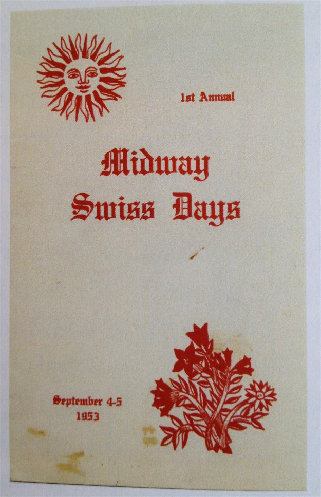 1st annual Midway Swiss Days 1953