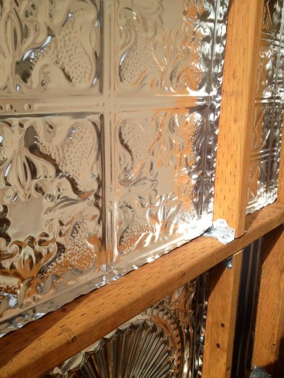 corrugated metal fence DIY