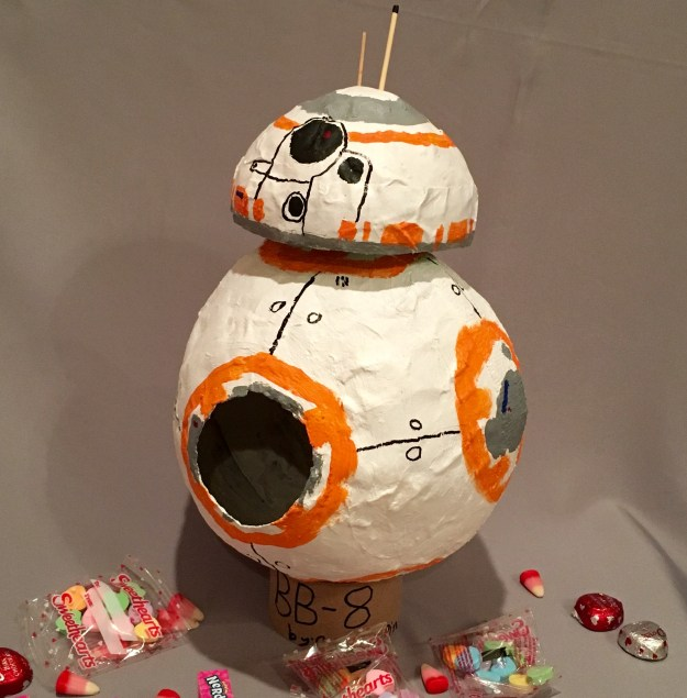 BB8 robot from Star Wars