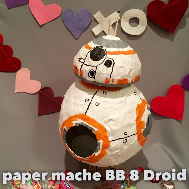 BB8 with text
