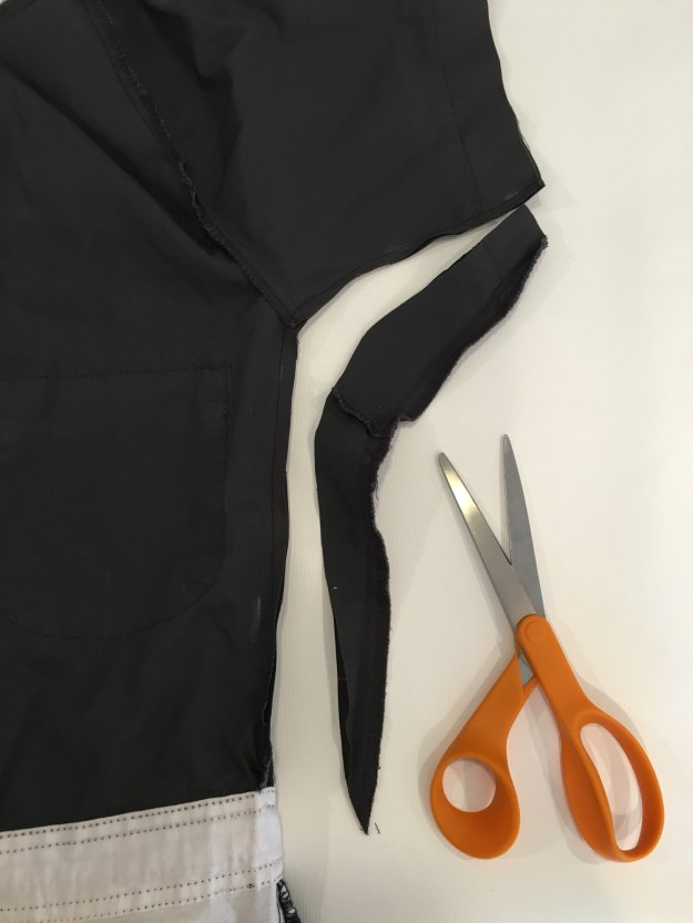 altering a jumpsuit