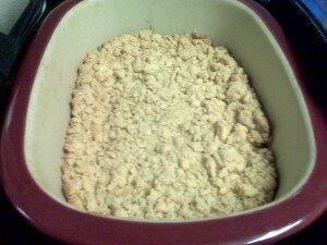 Apple Crisp Deep Covered Baker