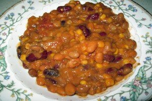 Crockpot Bean Chili