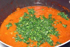 sauce spinach