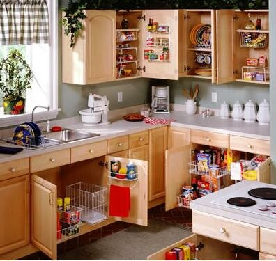 Shortcuts To A Well Organized Kitchen