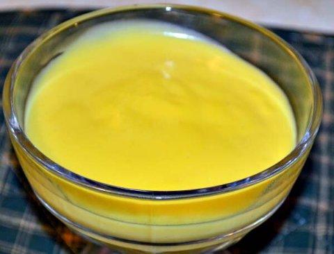 Homemade Lemon Pudding