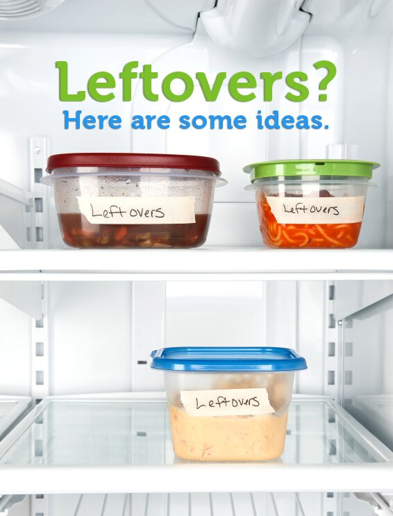 Create New Leftover Meals