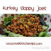 Turkey Sloppy Joes