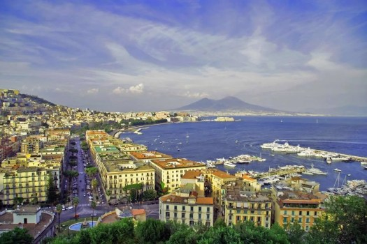 curiosità di Napoli vista da Posillipo