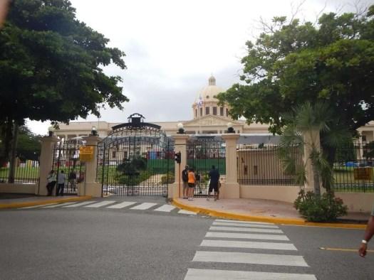 Il palazzo del presidente dominicano