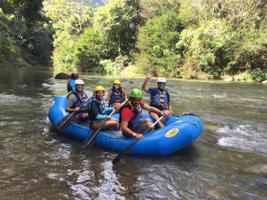 ecoturismo a Santo Domingo: rafting