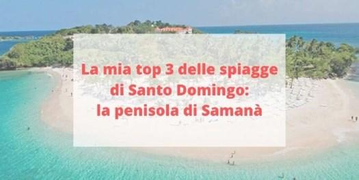 panoramica delle migliori spiagge della penisola di Samanà