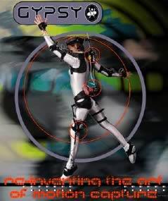 Motion Capture Elettro-Meccanica: GYPSY