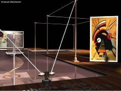 Kandinsky paintings in MII